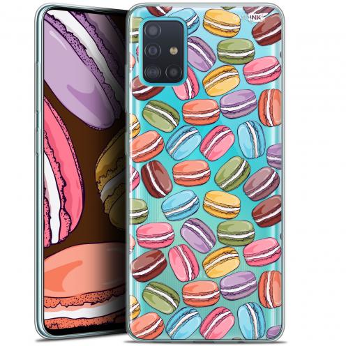 "Coque Gel Samsung Galaxy A51 (A515) (6.5"") Extra Fine Motif - Macarons"