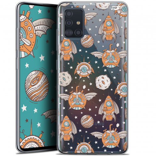 "Coque Gel Samsung Galaxy A51 (A515) (6.5"") Extra Fine Motif - Punk Space"