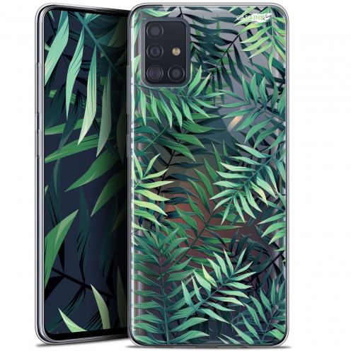 """Coque Gel Samsung Galaxy A51 (A515) (6.5"""") Extra Fine Motif - Feuilles des Tropiques"""