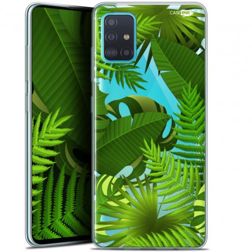 "Coque Gel Samsung Galaxy A51 (A515) (6.5"") Extra Fine Motif - Plantes des Tropiques"