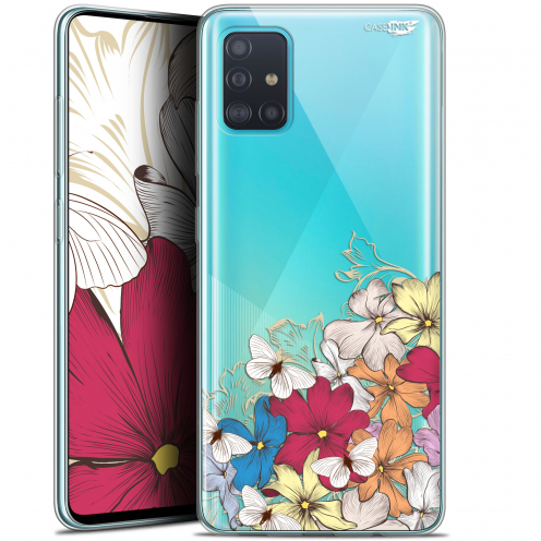 "Coque Gel Samsung Galaxy A51 (A515) (6.5"") Extra Fine Motif - Nuage Floral"