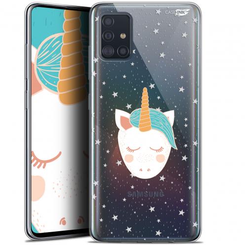 """Coque Gel Samsung Galaxy A51 (A515) (6.5"""") Extra Fine Motif - Licorne Dors"""