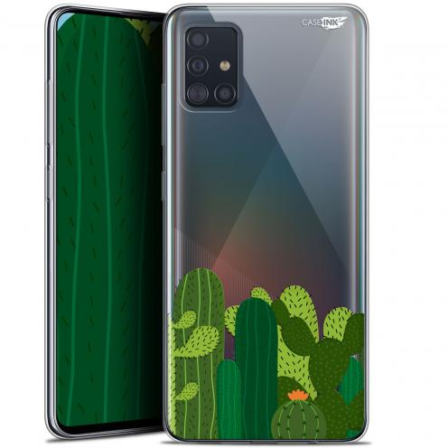 "Coque Gel Samsung Galaxy A51 (A515) (6.5"") Extra Fine Motif - Cactus"
