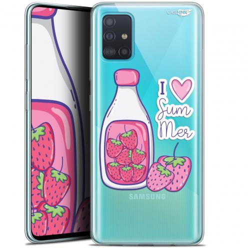 "Coque Gel Samsung Galaxy A51 (A515) (6.5"") Extra Fine Motif - Milky Summer"