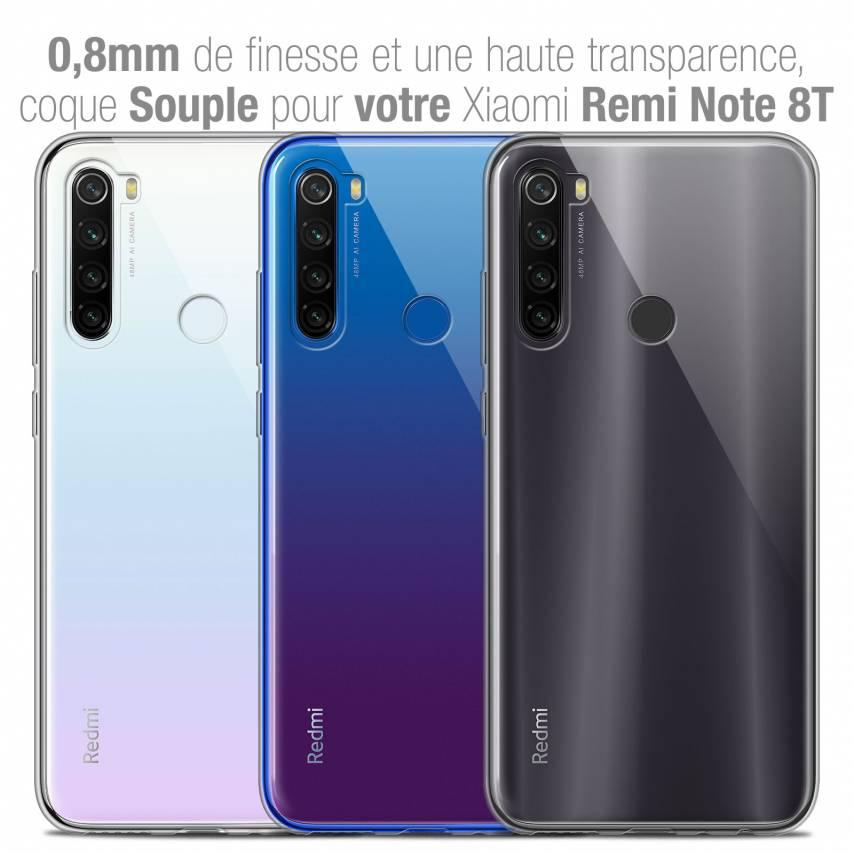 "Coque Xiaomi Redmi Note 8T (6.3"") Extra Fine Souple Crystal Clear"