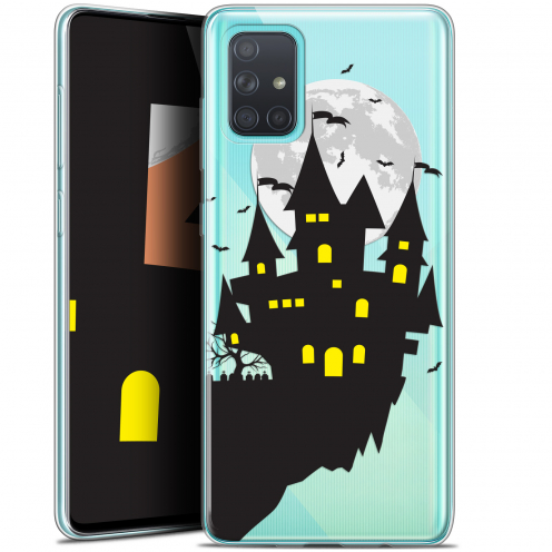 "Coque Gel Samsung Galaxy A71 (A715) (6.7"") Extra Fine Halloween - Castle Dream"