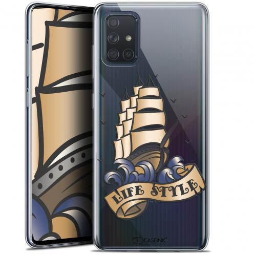 """Coque Gel Samsung Galaxy A71 (A715) (6.7"""") Extra Fine Tatoo Lover - Fashion"""