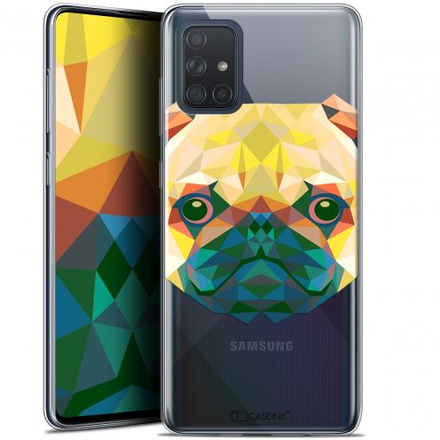 """Coque Gel Samsung Galaxy A71 (A715) (6.7"""") Extra Fine Polygon Animals - Chien"""