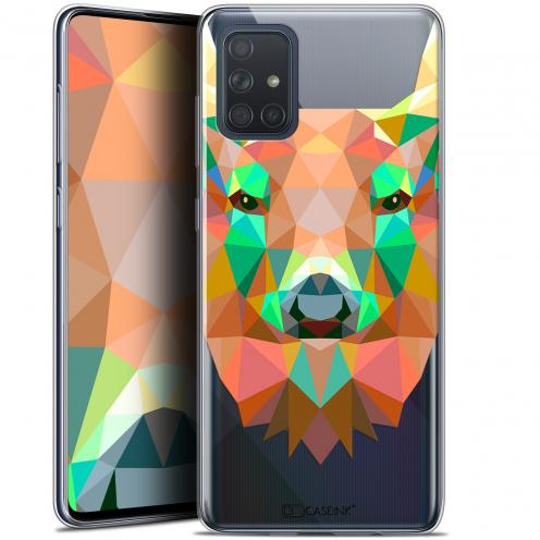 """Coque Gel Samsung Galaxy A71 (A715) (6.7"""") Extra Fine Polygon Animals - Cerf"""