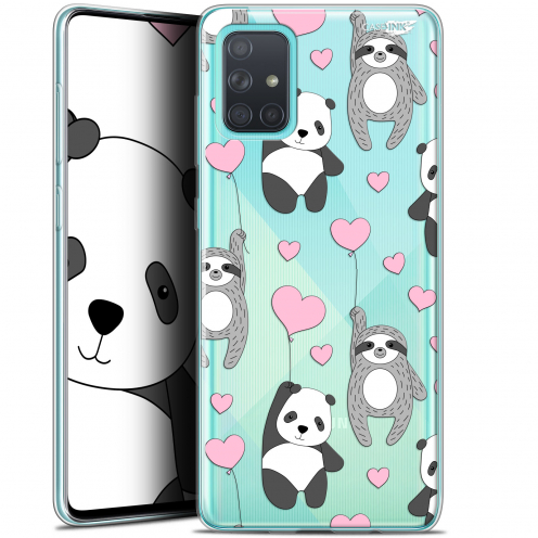 "Coque Gel Samsung Galaxy A71 (A715) (6.7"") Extra Fine Motif - Panda'mour"