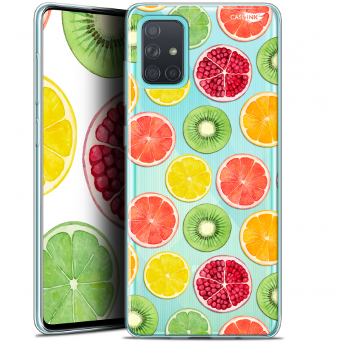"Coque Gel Samsung Galaxy A71 (A715) (6.7"") Extra Fine Motif - Fruity Fresh"