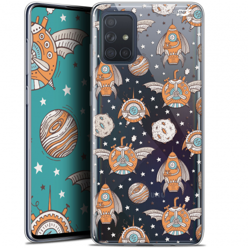"Coque Gel Samsung Galaxy A71 (A715) (6.7"") Extra Fine Motif - Punk Space"