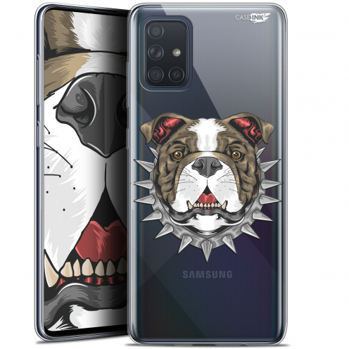 "Coque Gel Samsung Galaxy A71 (A715) (6.7"") Extra Fine Motif - Doggy"
