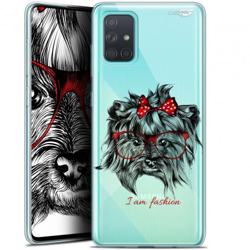 """Coque Gel Samsung Galaxy A71 (A715) (6.7"""") Extra Fine Motif - Fashion Dog"""
