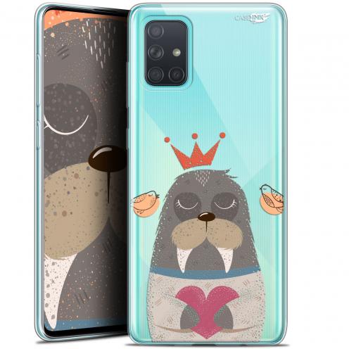 "Coque Gel Samsung Galaxy A71 (A715) (6.7"") Extra Fine Motif - Sketchy Walrus"