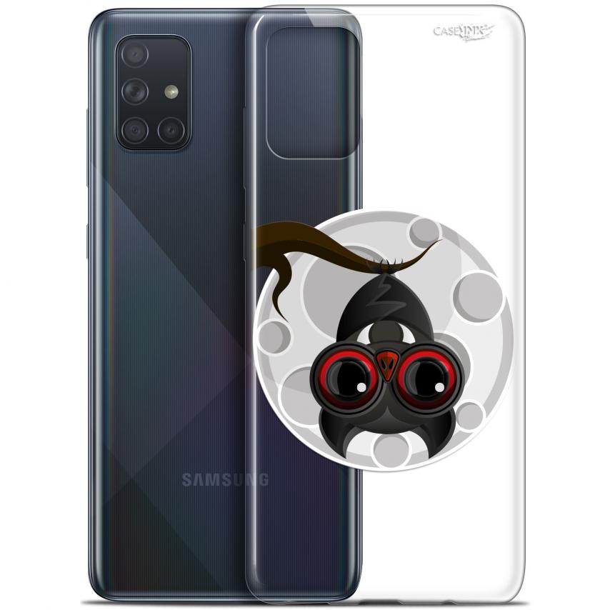 "Coque Gel Samsung Galaxy A71 (A715) (6.7"") Extra Fine Motif - Petit Vampire"