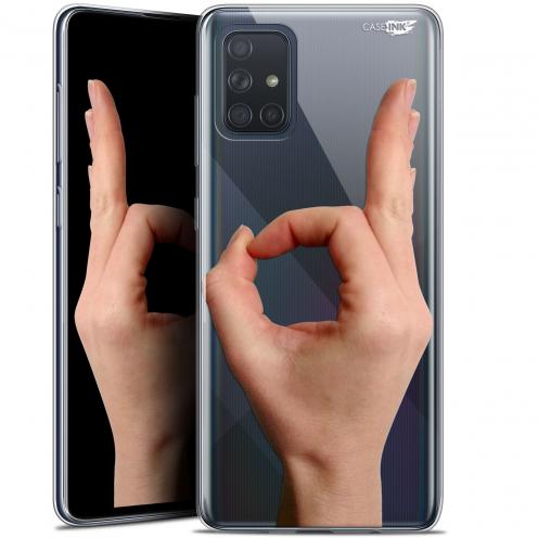 "Coque Gel Samsung Galaxy A71 (A715) (6.7"") Extra Fine Motif - Le Jeu du Rond"