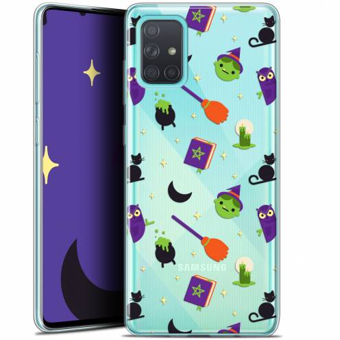 """Coque Gel Samsung Galaxy A71 (A715) (6.7"""") Extra Fine Halloween - Witch Potter"""