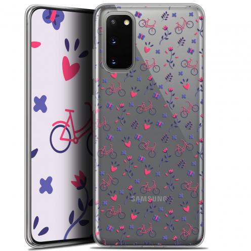 "Coque Gel Samsung Galaxy S20 (6.2"") Extra Fine Love - Bicycle"