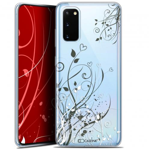 "Coque Gel Samsung Galaxy S20 (6.2"") Extra Fine Love - Hearts Flowers"