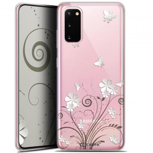 "Coque Gel Samsung Galaxy S20 (6.2"") Extra Fine Summer - Papillons"