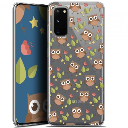 "Coque Gel Samsung Galaxy S20 (6.2"") Extra Fine Summer - Hibou"