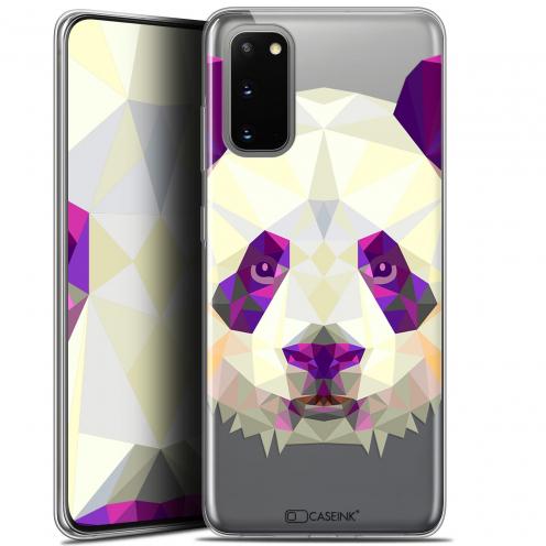 """Coque Gel Samsung Galaxy S20 (6.2"""") Extra Fine Polygon Animals - Panda"""