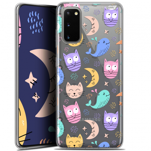 "Coque Gel Samsung Galaxy S20 (6.2"") Extra Fine Motif - Chat Hibou"