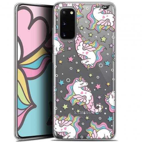 """Coque Gel Samsung Galaxy S20 (6.2"""") Extra Fine Motif - Licorne Dormante"""