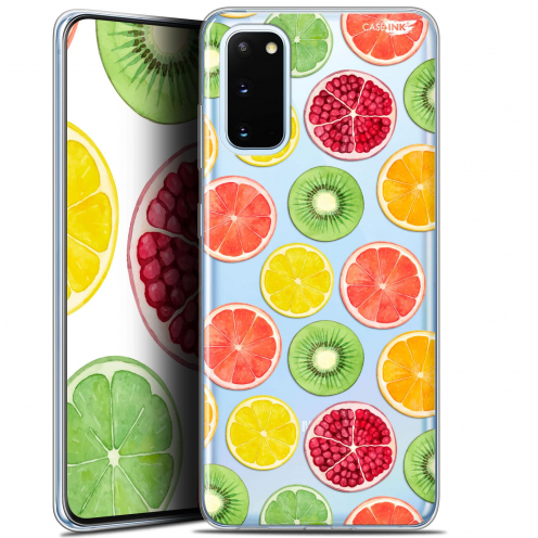 "Coque Gel Samsung Galaxy S20 (6.2"") Extra Fine Motif - Fruity Fresh"