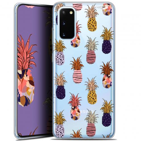 "Coque Gel Samsung Galaxy S20 (6.2"") Extra Fine Motif - Ananas Gold"