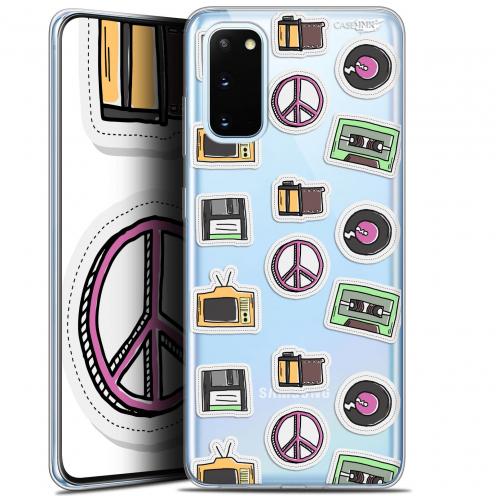 """Coque Gel Samsung Galaxy S20 (6.2"""") Extra Fine Motif - Vintage Stickers"""