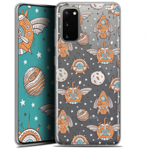 "Coque Gel Samsung Galaxy S20 (6.2"") Extra Fine Motif - Punk Space"
