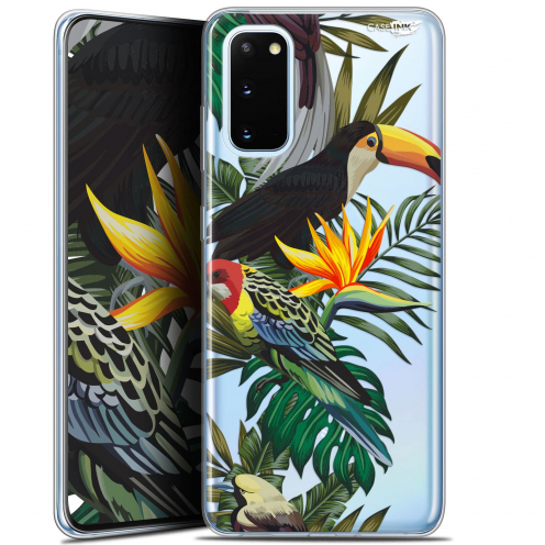 "Coque Gel Samsung Galaxy S20 (6.2"") Extra Fine Motif - Toucan Tropical"