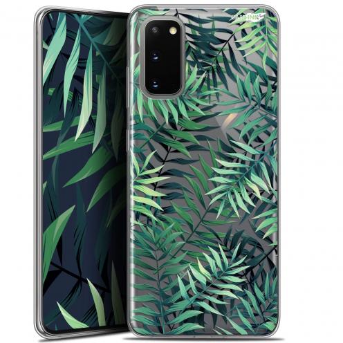 "Coque Gel Samsung Galaxy S20 (6.2"") Extra Fine Motif - Feuilles des Tropiques"