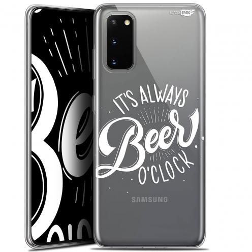 """Coque Gel Samsung Galaxy S20 (6.2"""") Extra Fine Motif - Its Beer O'Clock"""