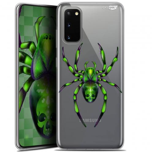 "Coque Gel Samsung Galaxy S20 (6.2"") Extra Fine Motif - Arraignée Verte"