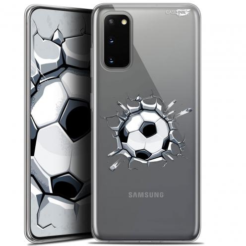 """Coque Gel Samsung Galaxy S20 (6.2"""") Extra Fine Motif - Le Balon de Foot"""