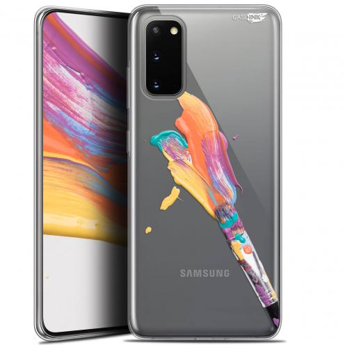 """Coque Gel Samsung Galaxy S20 (6.2"""") Extra Fine Motif - Pinceau de Peinture"""