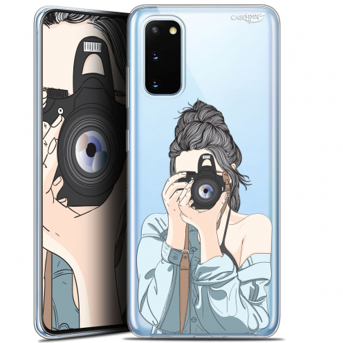"""Coque Gel Samsung Galaxy S20 (6.2"""") Extra Fine Motif - La Photographe"""