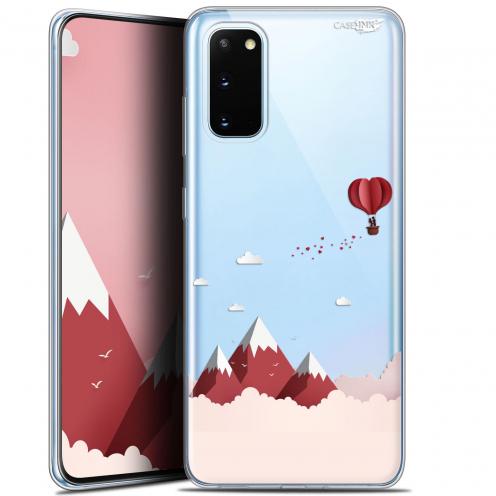 """Coque Gel Samsung Galaxy S20 (6.2"""") Extra Fine Motif - Montagne En Montgolfière"""
