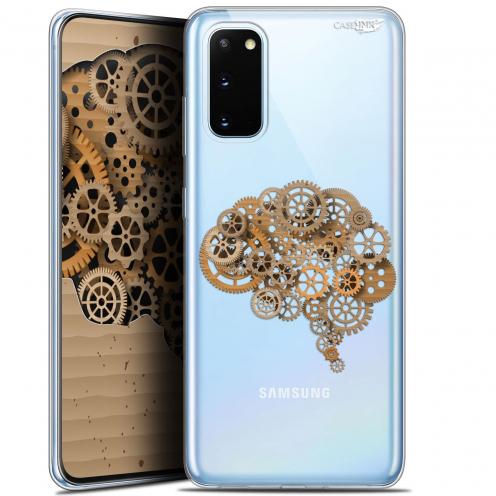 "Coque Gel Samsung Galaxy S20 (6.2"") Extra Fine Motif - Mécanismes du Cerveau"