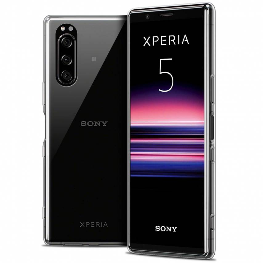 "Coque Sony Xperia 5 (6.1"") Extra Fine Souple Crystal Clear"