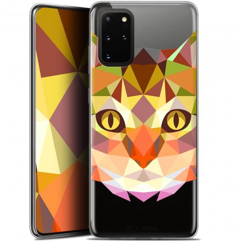 "Coque Gel Samsung S20+ (6.7"") Extra Fine Polygon Animals - Chat"