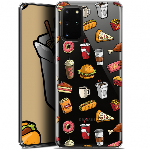 "Coque Gel Samsung S20+ (6.7"") Extra Fine Foodie - Fast Food"