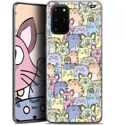 "Coque Gel Samsung S20+ (6.7"") Extra Fine Motif - Foule de Chats"