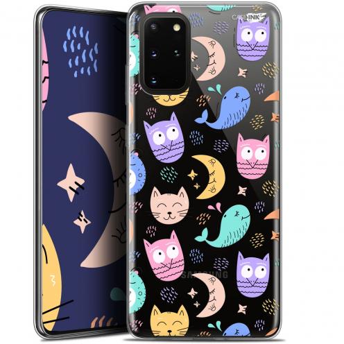 "Coque Gel Samsung S20+ (6.7"") Extra Fine Motif - Chat Hibou"
