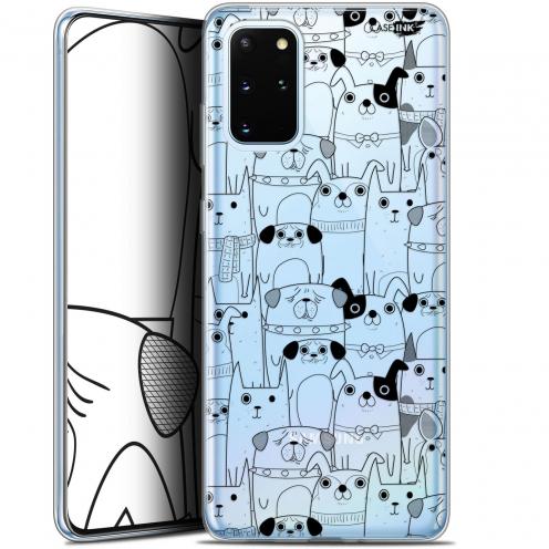 """Coque Gel Samsung S20+ (6.7"""") Extra Fine Motif - Chien Noir"""