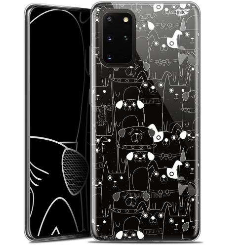 """Coque Gel Samsung S20+ (6.7"""") Extra Fine Motif - Chien Blanc"""