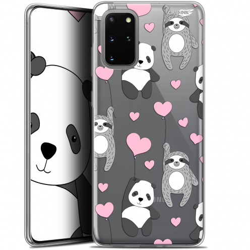 """Coque Gel Samsung S20+ (6.7"""") Extra Fine Motif - Panda'mour"""